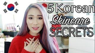 5 Korean Skincare Secrets to Glowing, Perfect skin! | Alicia Tan