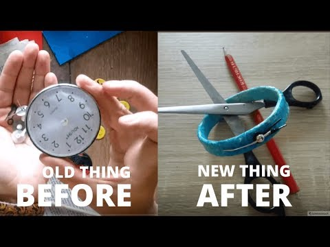 DIY How to turn an old watch into a bracelet tutorial