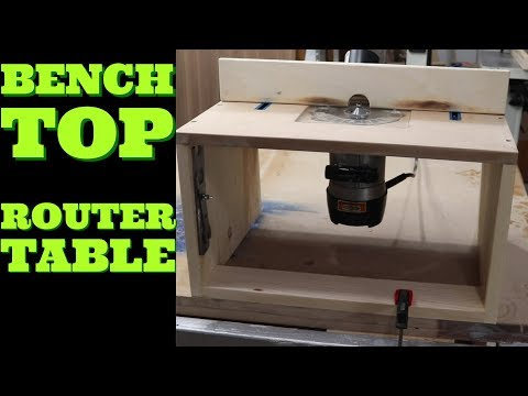 Bench Top Router Table | DIY