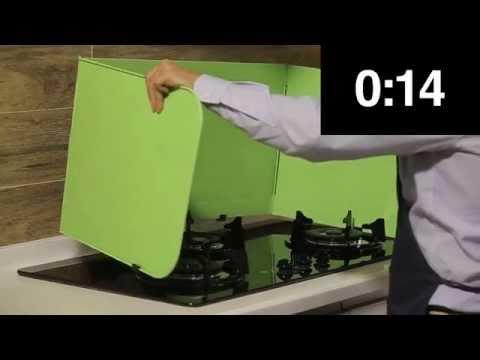 DIY: Backsplash Setup in 18 Seconds by Inouby