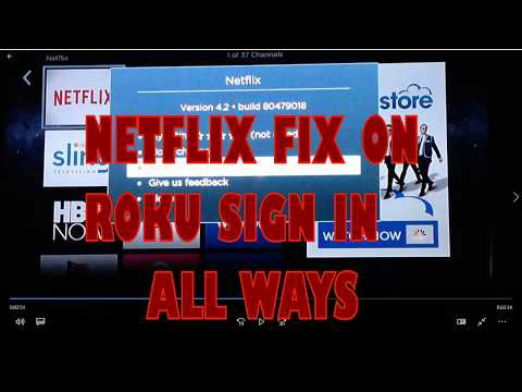 How to Fix Netflix not working on Roku
