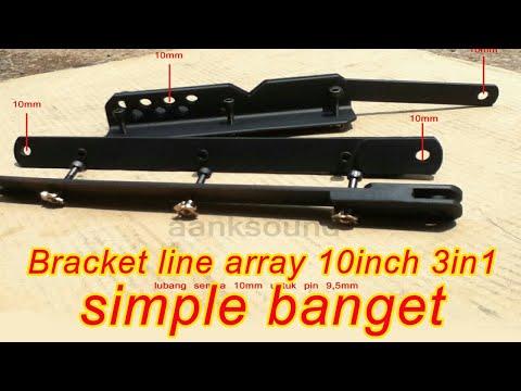 bracket line array 10 inch cianjur