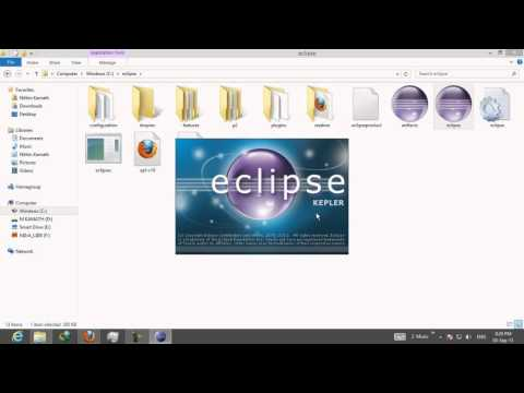 How to run Java programs in Eclipse IDE
