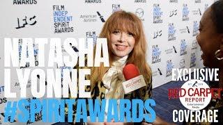Natasha Lyonne interviewed at the 35th Film Independent #SpiritAwards Nominee Announcement