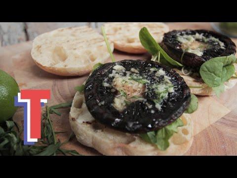 Portobello Mushroom Burger | Eat Up
