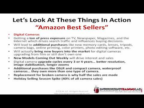 Amazon Affiliate Product Research For Amazon.com Associates and Internet Marketing p2