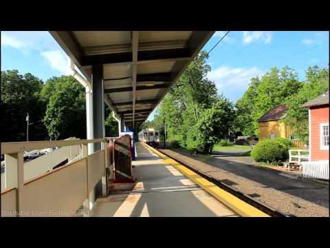 MNCR Danbury: Shuttle Train at Cannondale RR [BL20GH #111]