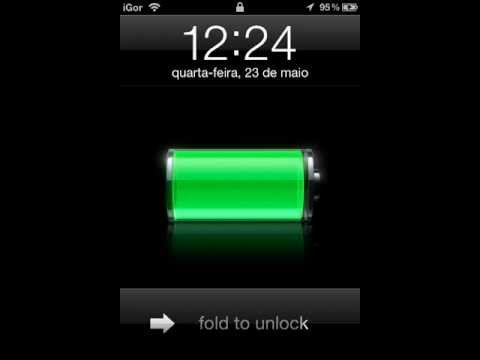 Unfold to unlock working on iPod Touch 4th Gen