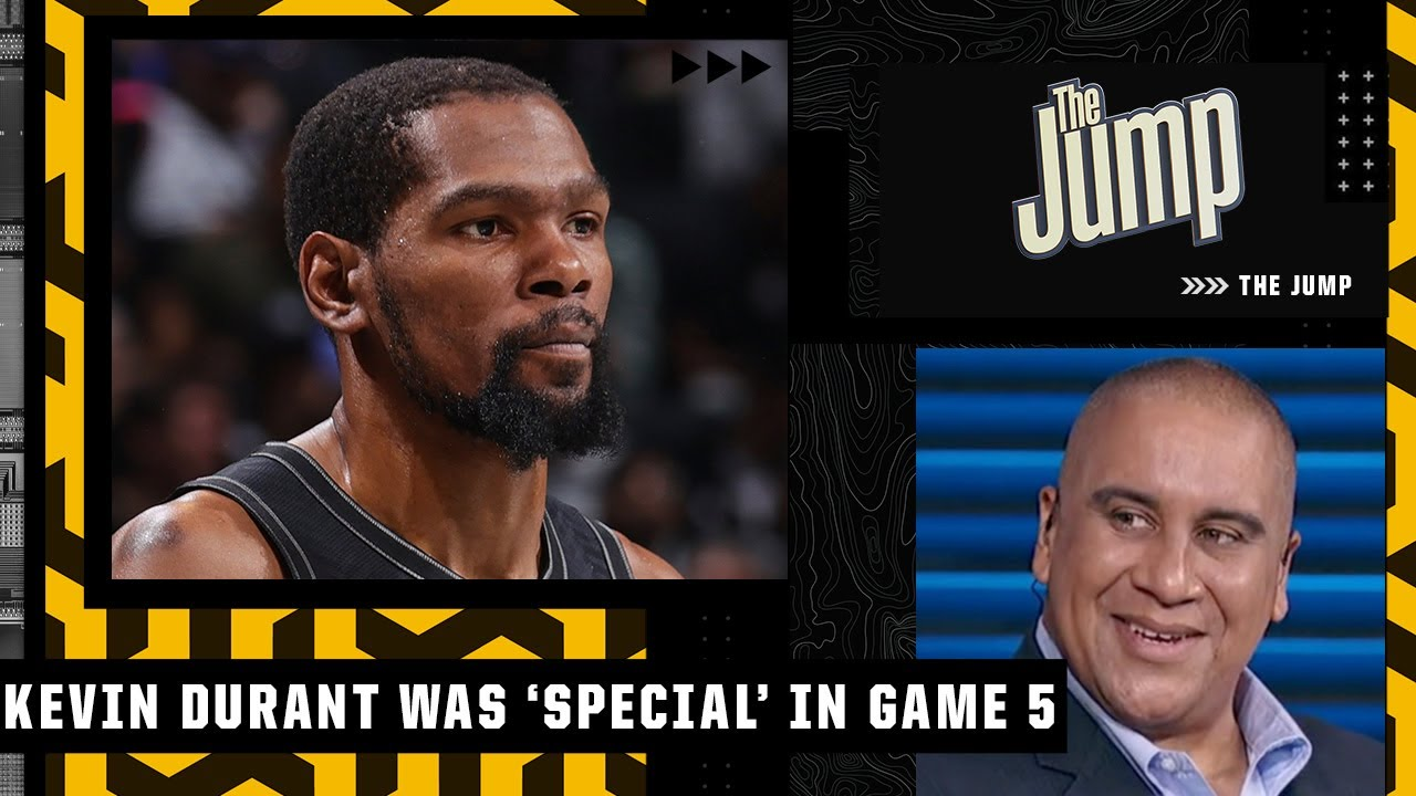 Kevin Durant putting the team on his back in Game 5 was 'special' - Marc J. Spears   The Jump