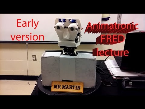 early FRED AI Lecture
