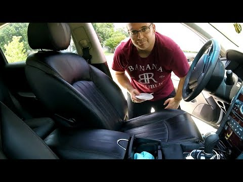 How to clean your leather seats