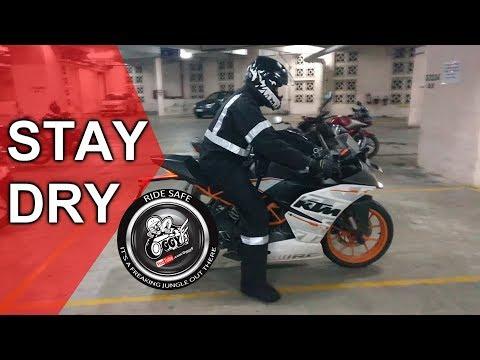 THE BEST RAIN GEAR   Motorcycle riding gear