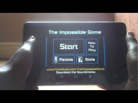The Impossible Game Android Review - Nexus 7