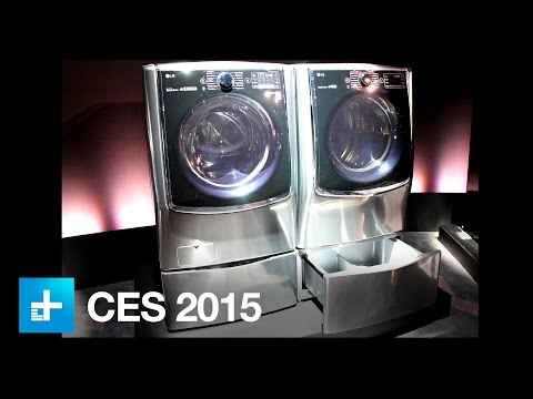 Need to do a second load of laundry? Stick this mini drawer under your washer - CES 2015
