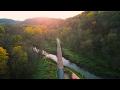The Cannon Valley Trail From Above!
