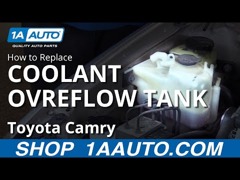 How to Replace Install Coolant Overflow Tank 1997-00 Toyota Camry