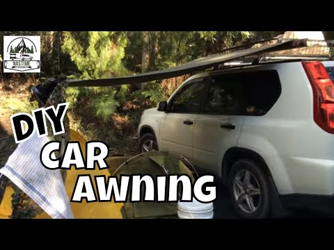 Do It Yourself Car Side Awning - Learn how to make your own!