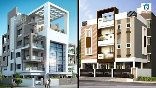 Awesome Apartment Elevation Design Ideas Front View