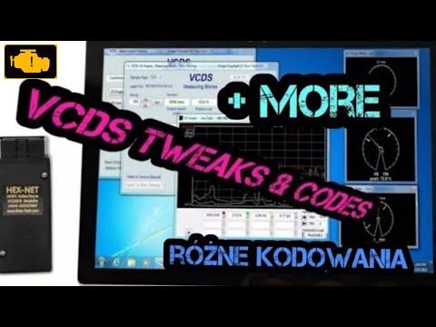 VCDS VAG-COM Tweaks & Codes, VW needle sweep VCDS,Indicator celebration obd2