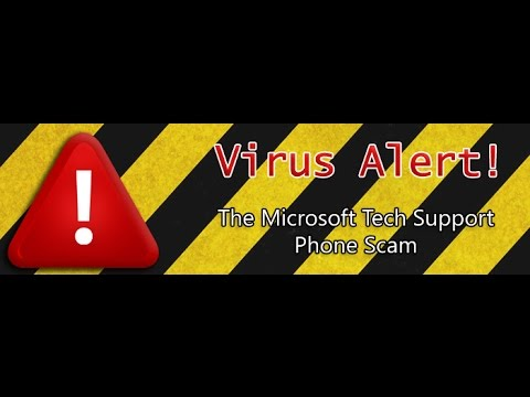 Yet ANOTHER Call claiming to be Microsoft Windows Tech Support SCAM