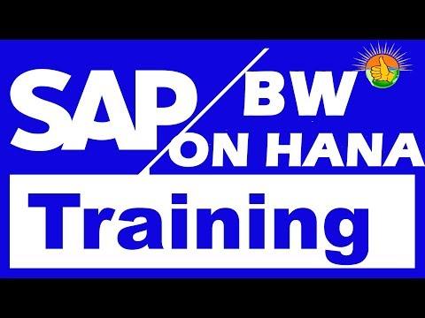 SAP HANA & SAP BW on HANA Tutorial For Beginners Video 1