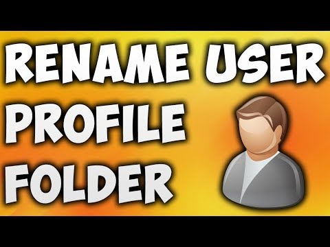 How To Rename User Profile Folder In Windows 10 - Change User Profile Folder Name