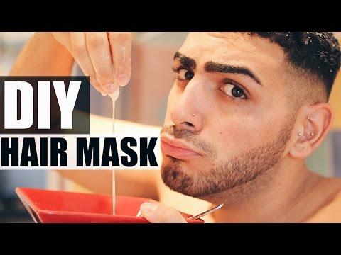 DIY: Hair Mask For Slow Growing Hair + Restores Dry Damaged Hair