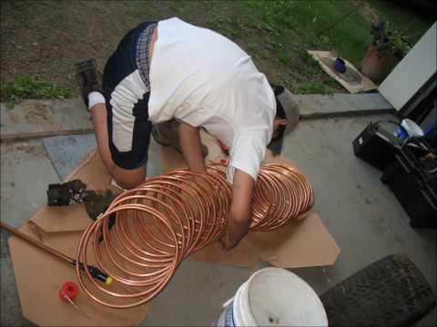 Wood Fired Pool Heater