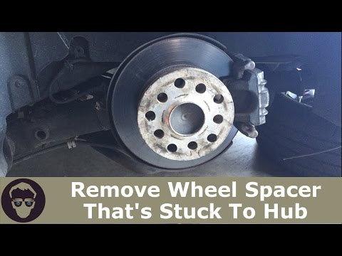 Wheels Spacer Stuck To Hub EASY way to REMOVE