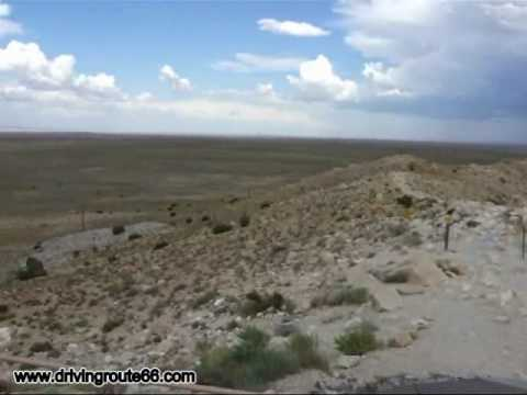 Meteor Crater - Arizona - Driving Route 66