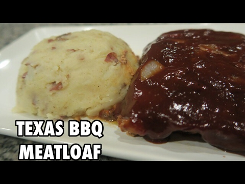 TEXAS BBQ MEATLOAF | Quick & Easy Recipe - Cooking & Caking