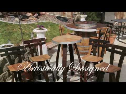 Vineyard Artisan Wine Barrel Furniture
