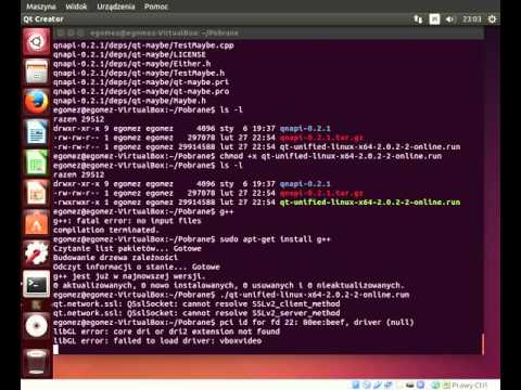 How compile qnapi 0.2.1 in Ubuntu 14.04 LTS with Qt Creator