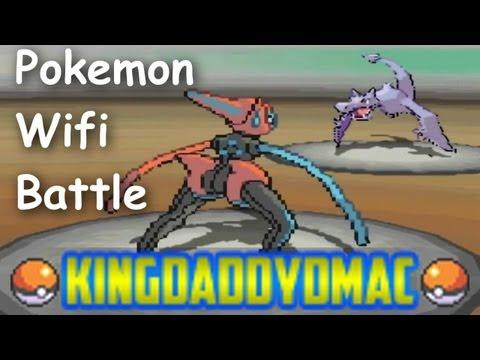 Pokemon Black & White Wifi Battle KingDaddyDMAC vs Cote1616pb [Farewell to Deoxys-s]
