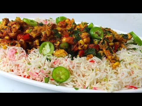 QUICK MASALA CHICKEN RICE *COOK WITH FAIZA*