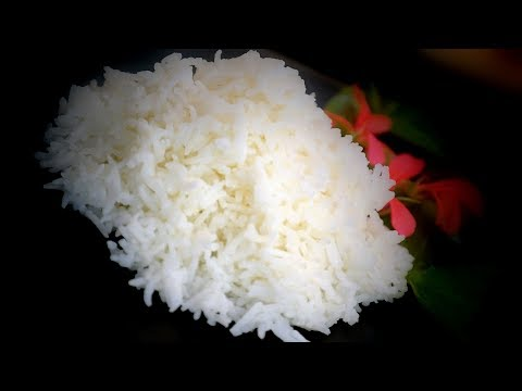 How to Cook Plain Boiled Rice | Chinese Style Cooking Recipe