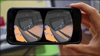 Google Cardboard + ARCore - Testing Theater Sightlines on Your Phone