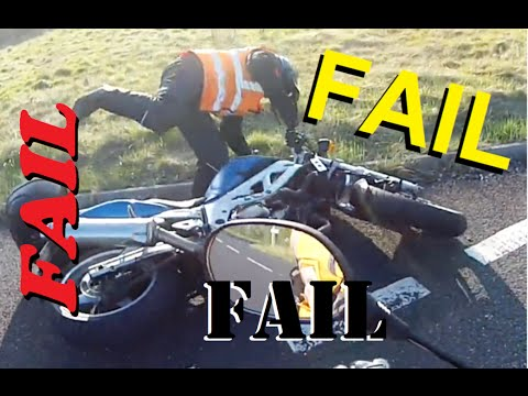 FAIL Motorcycle kick-stand #WITHCAPTIONS