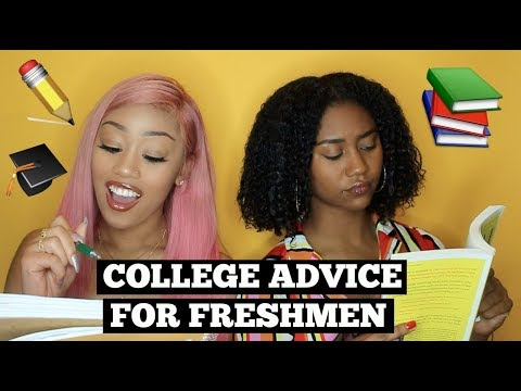 Advice For College Freshmen Pt. 2 (Drama, Life Hacks, Parties, Classes)