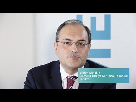 Siemens Türkiye Kurumsal Teknoloji Hakkında - Erdem Alptekin