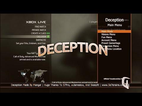[XBOX 360] Deception MW3 Non Host Mod Menu [TU23] [DOWNLOAD] - playithub com