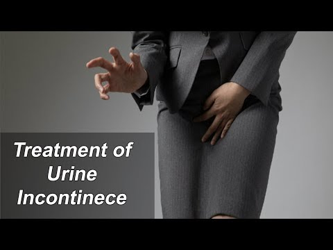 Treatment of Urine Incontinence