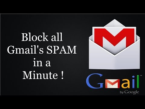 Block all SPAM emails in Gmail using a simple trick.
