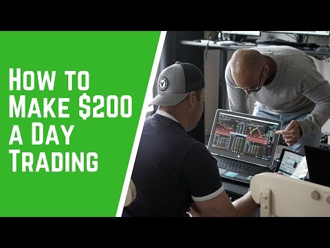 How to Make $200 a Day Trading
