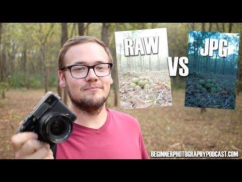 Beginners Guide RAW vs JPG