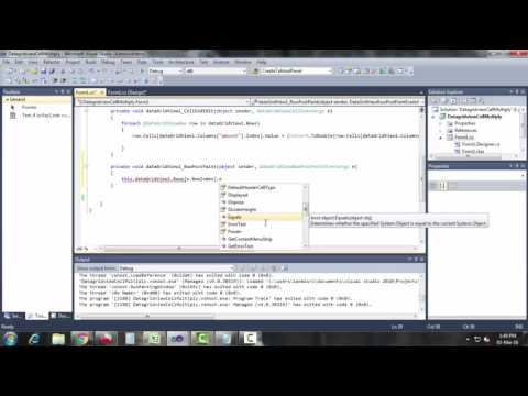 Datagridview Row Serial Number In C#