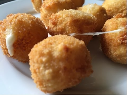 Fried Mozzarella Cheese Balls - Episode 172 - Baking with Eda