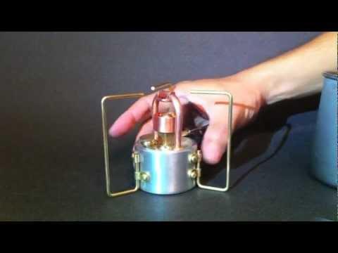 DT-812 Adjustable Copper Coil Alcohol Stove