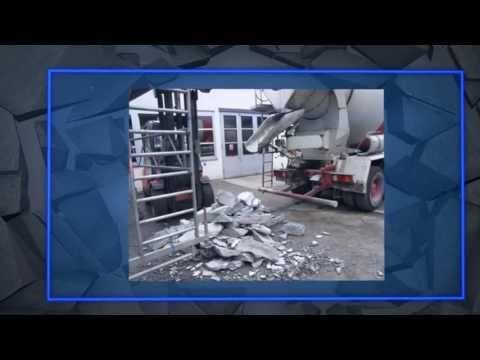 Fahrmischerreinigung_URACA - concrete mixer cleaning