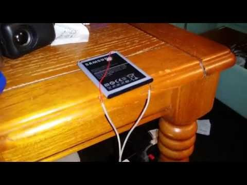 How To Charge Smartphone Battery WITHOUT CHARGER!